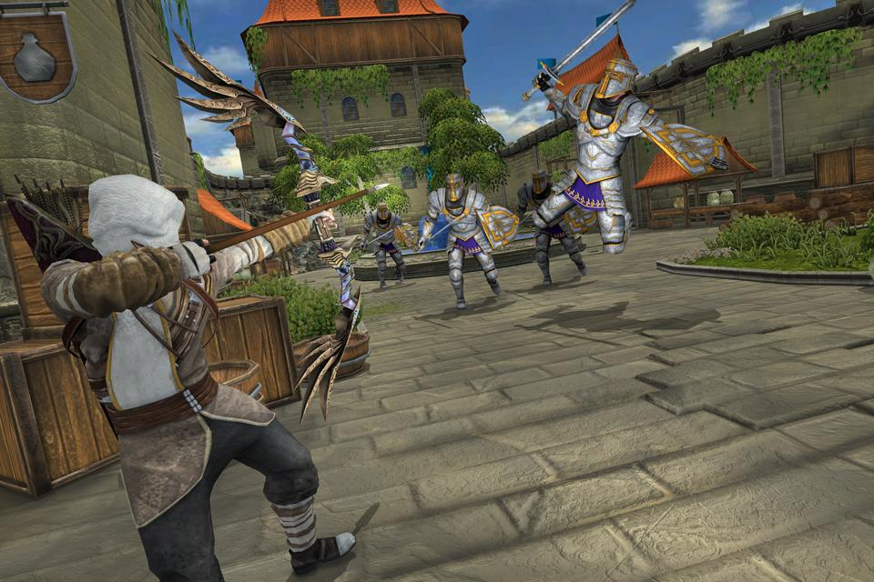 Superhero Ninja Archery Assassin Kungfu Arashi 1.6 Screenshot 3