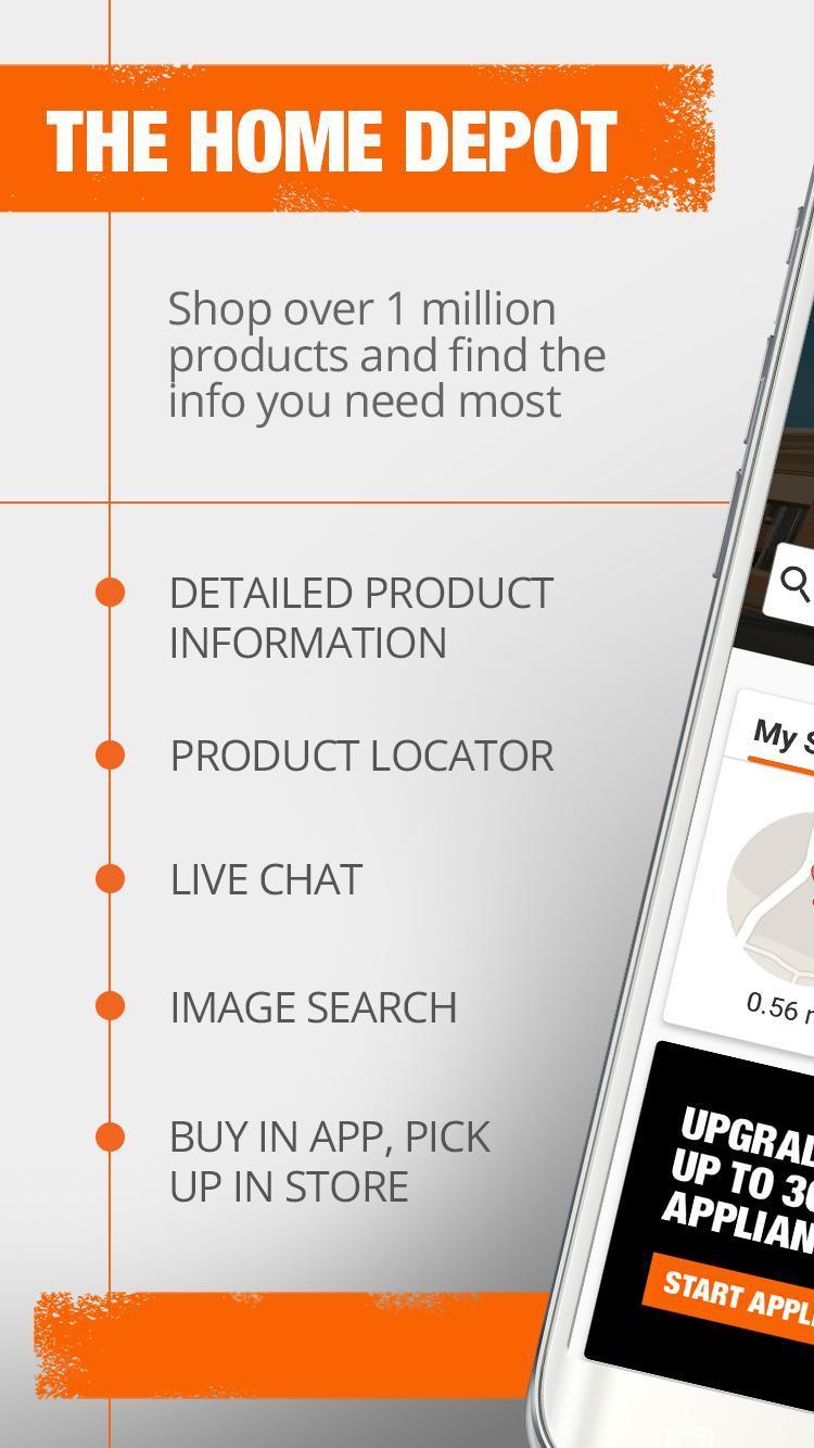 The Home Depot 6.0.4 Screenshot 1