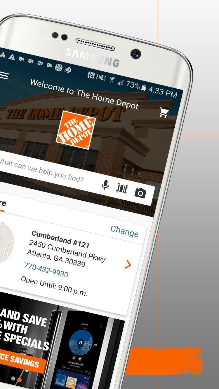 The Home Depot 6.0.4 Screenshot 2