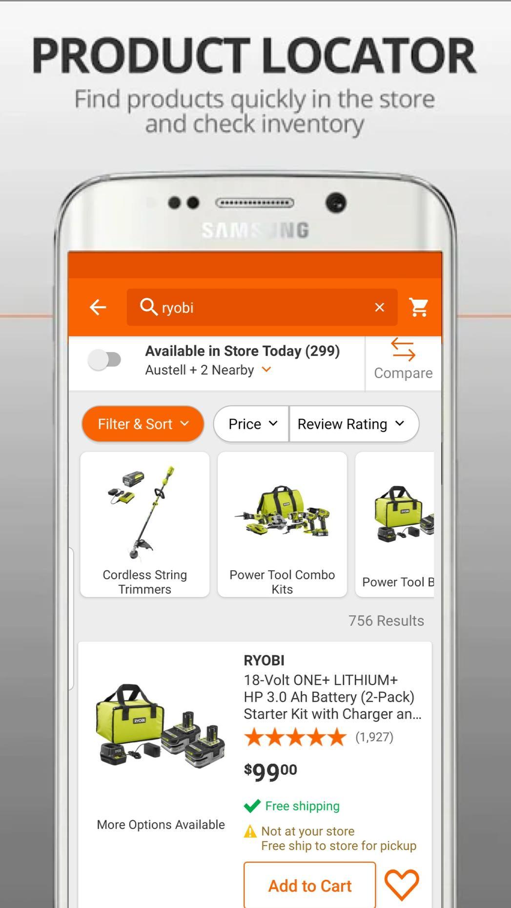 The Home Depot 6.0.4 Screenshot 4