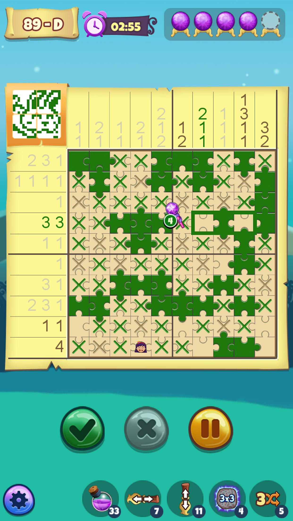 The Mystic Puzzland - Griddlers & Nonogram Puzzles 1.0.26 Screenshot 1