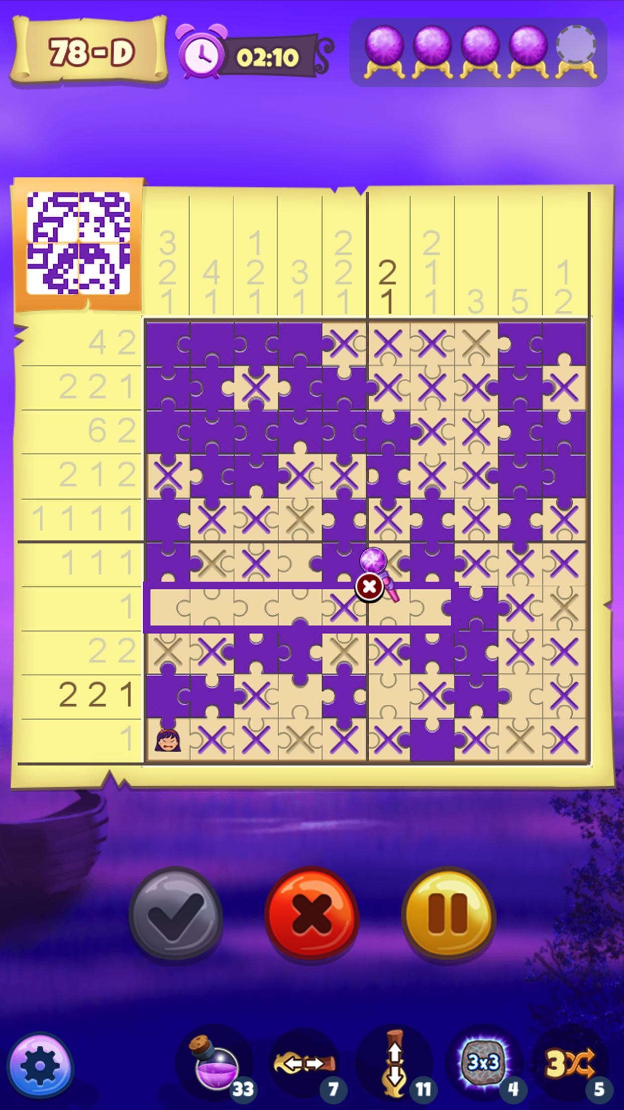The Mystic Puzzland - Griddlers & Nonogram Puzzles 1.0.26 Screenshot 2