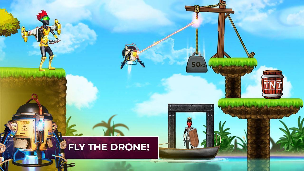 Mr Shooter Offline Game -Puzzle Adventure New Game 1.28 Screenshot 3