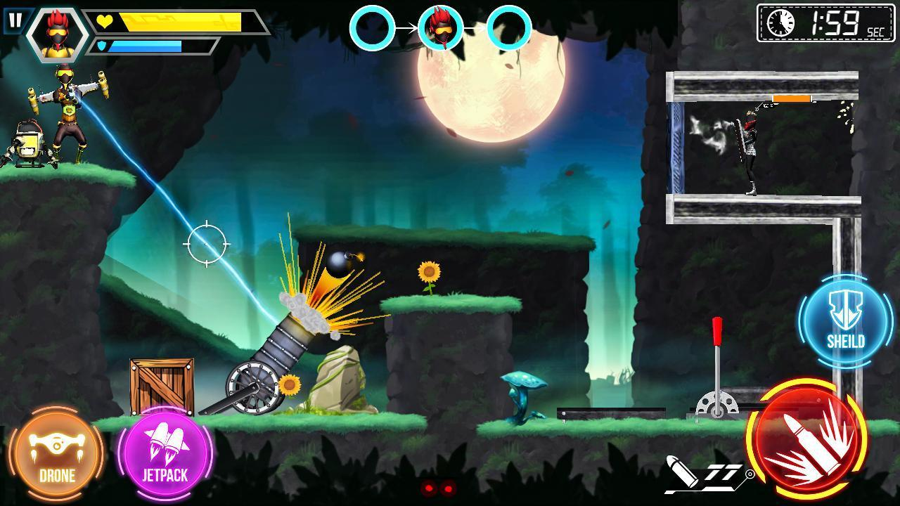 Mr Shooter Offline Game -Puzzle Adventure New Game 1.28 Screenshot 7