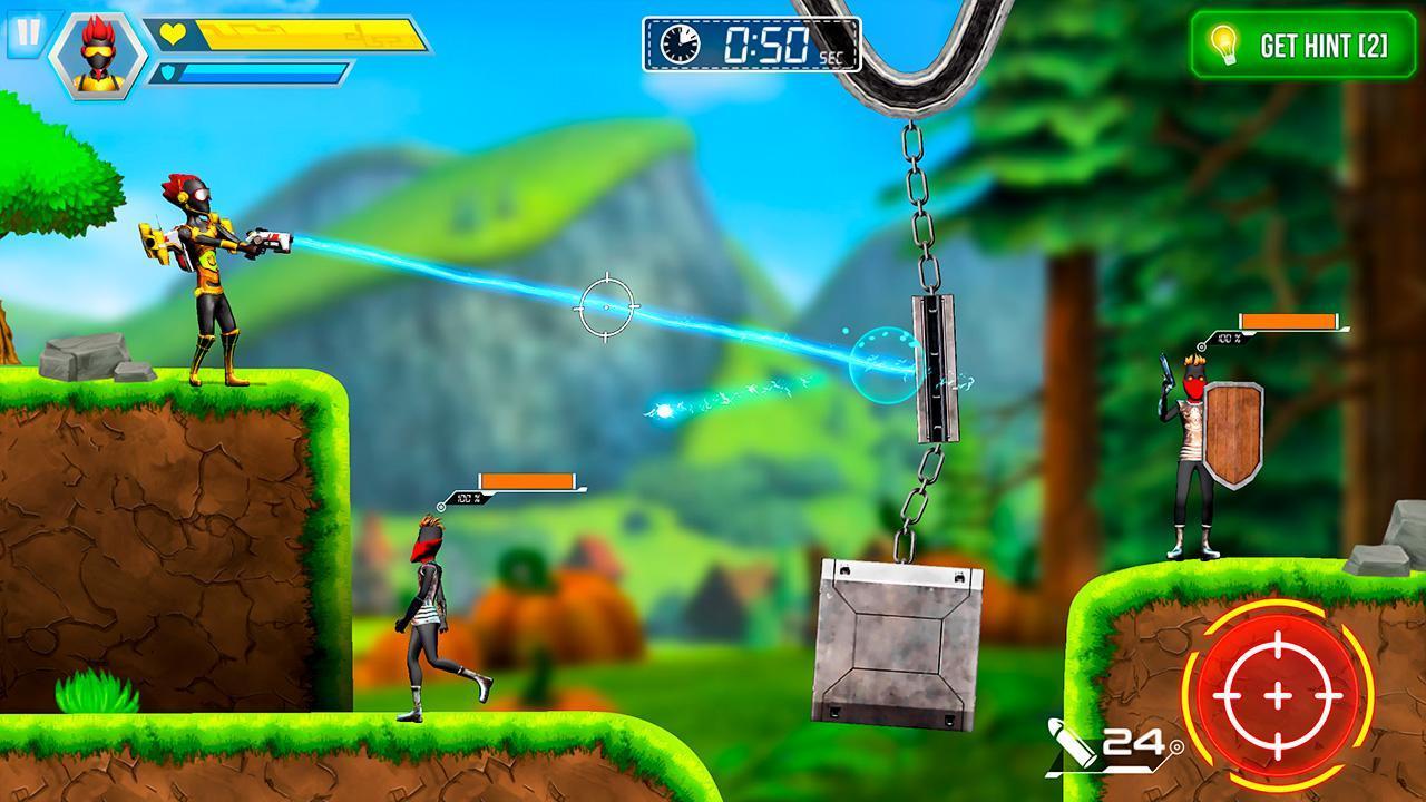 Mr Shooter Offline Game -Puzzle Adventure New Game 1.28 Screenshot 9