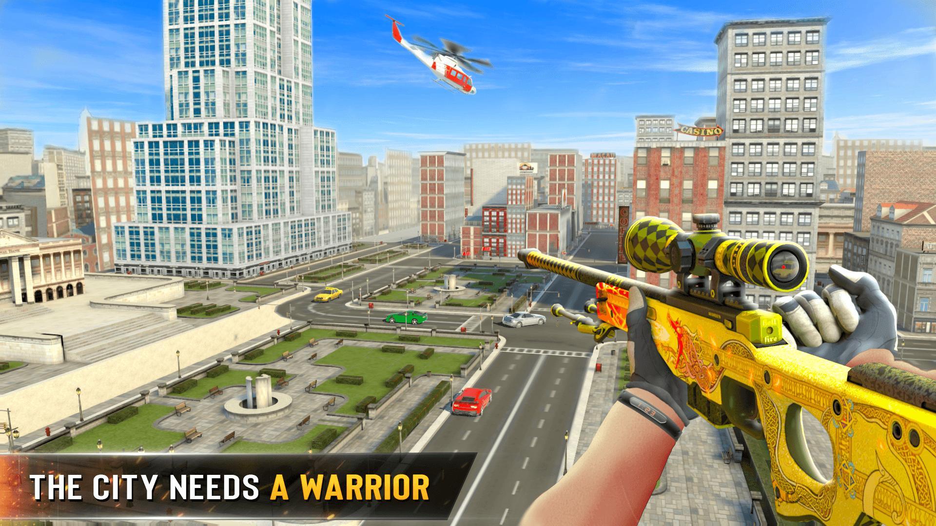 New Sniper Shooter: Free offline 3D shooting games 1.78 Screenshot 1
