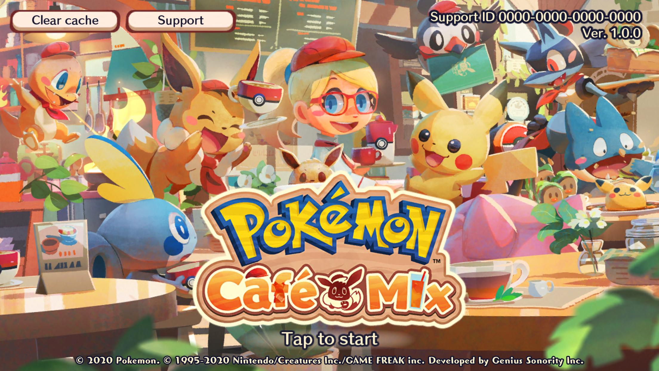 Pokémon Café Mix 1.40.0 Screenshot 1