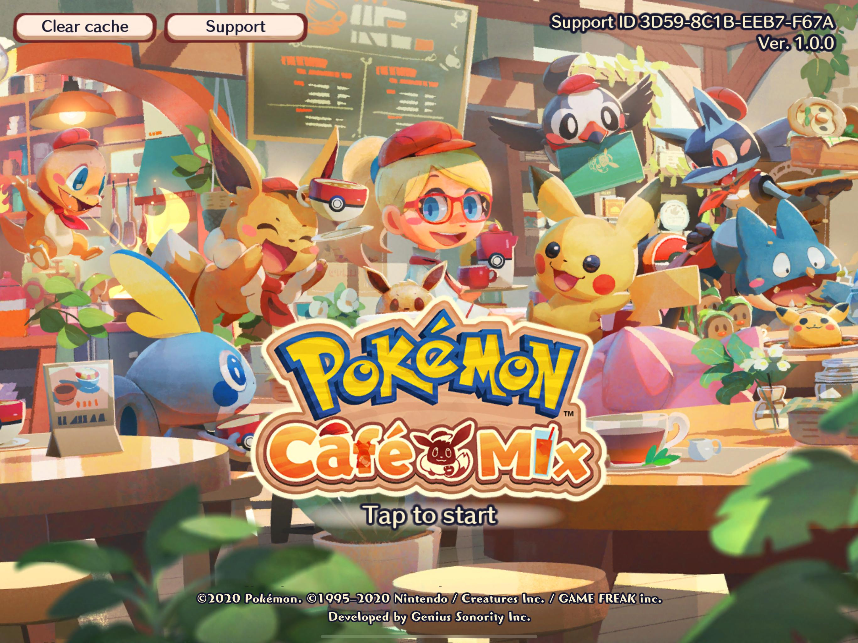 Pokémon Café Mix 1.40.0 Screenshot 8