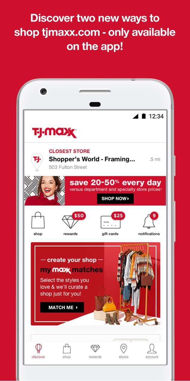 T.J.Maxx 5.7.51000185 Screenshot 1