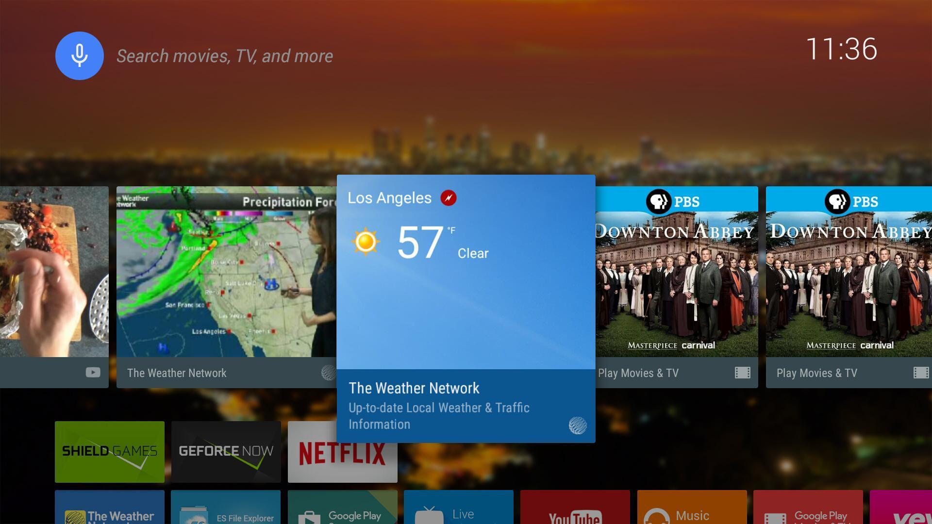The Weather Network TV App 1.1.5.2 Screenshot 1