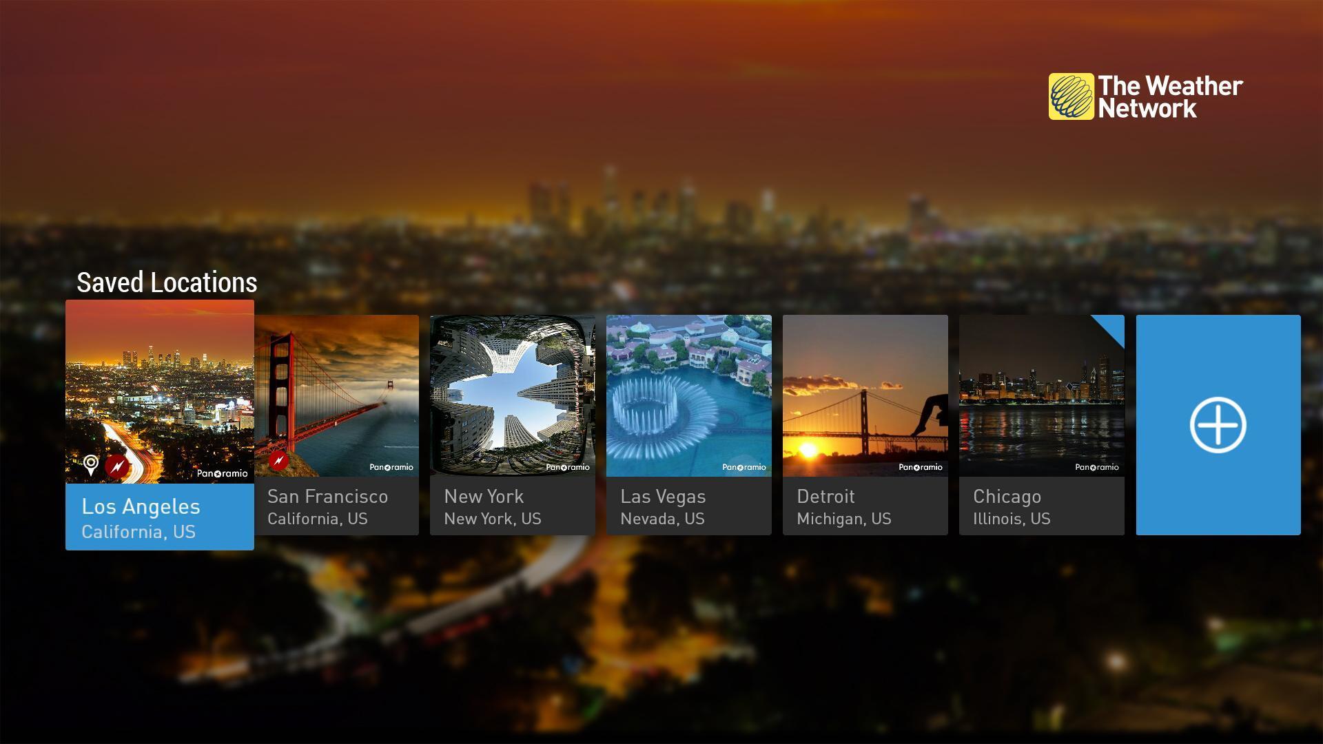 The Weather Network TV App 1.1.5.2 Screenshot 2