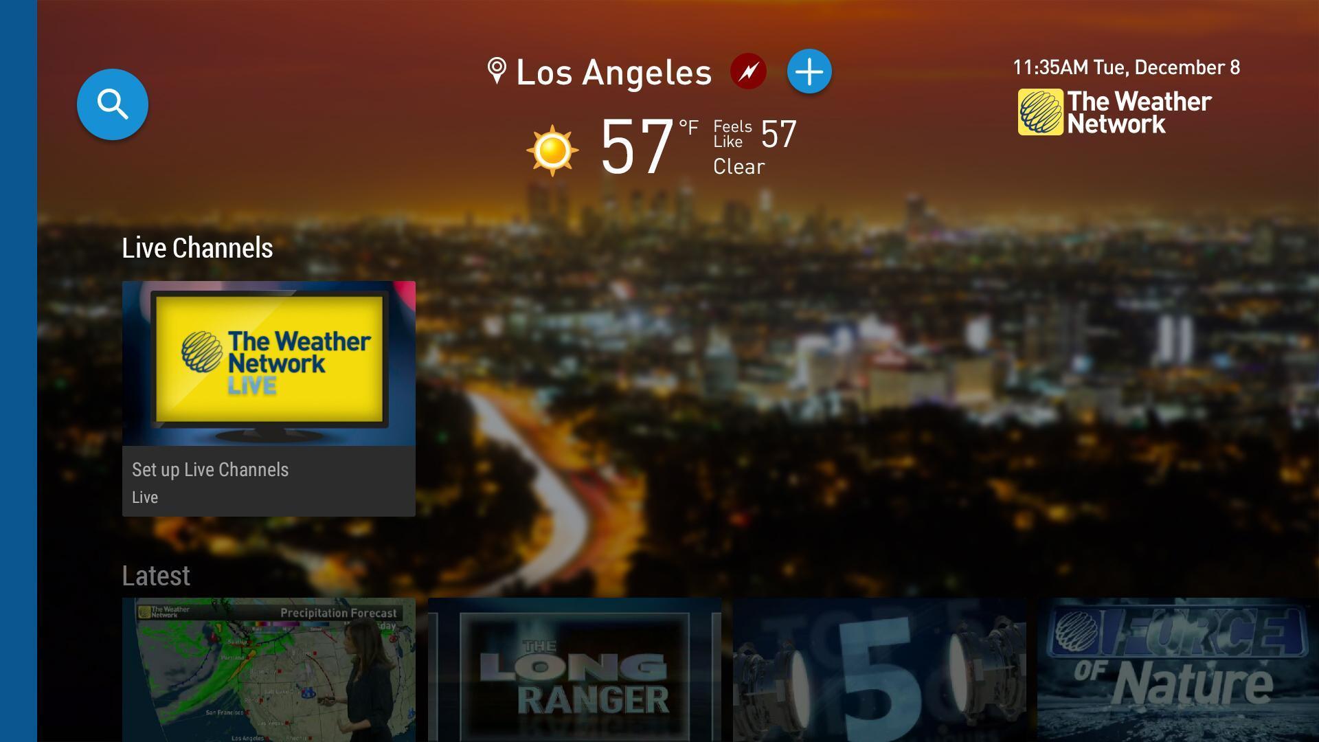 The Weather Network TV App 1.1.5.2 Screenshot 4