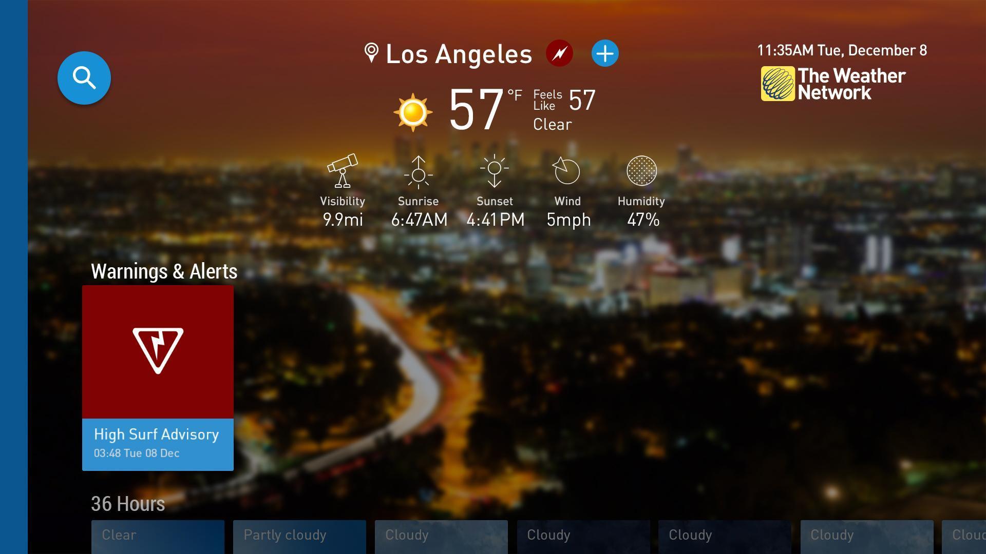 The Weather Network TV App 1.1.5.2 Screenshot 7