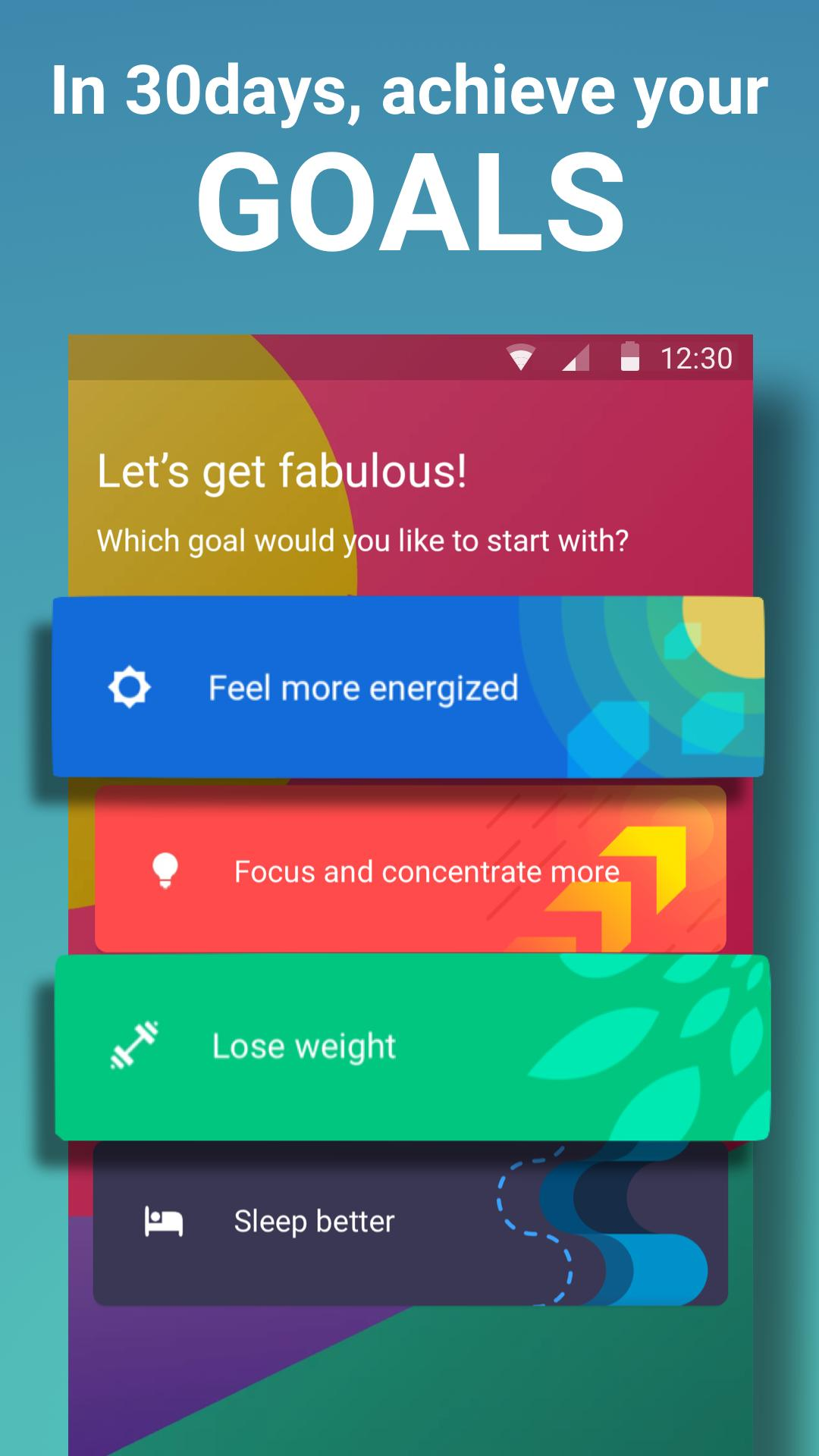 Fabulous Daily Motivation 3.60 Screenshot 1