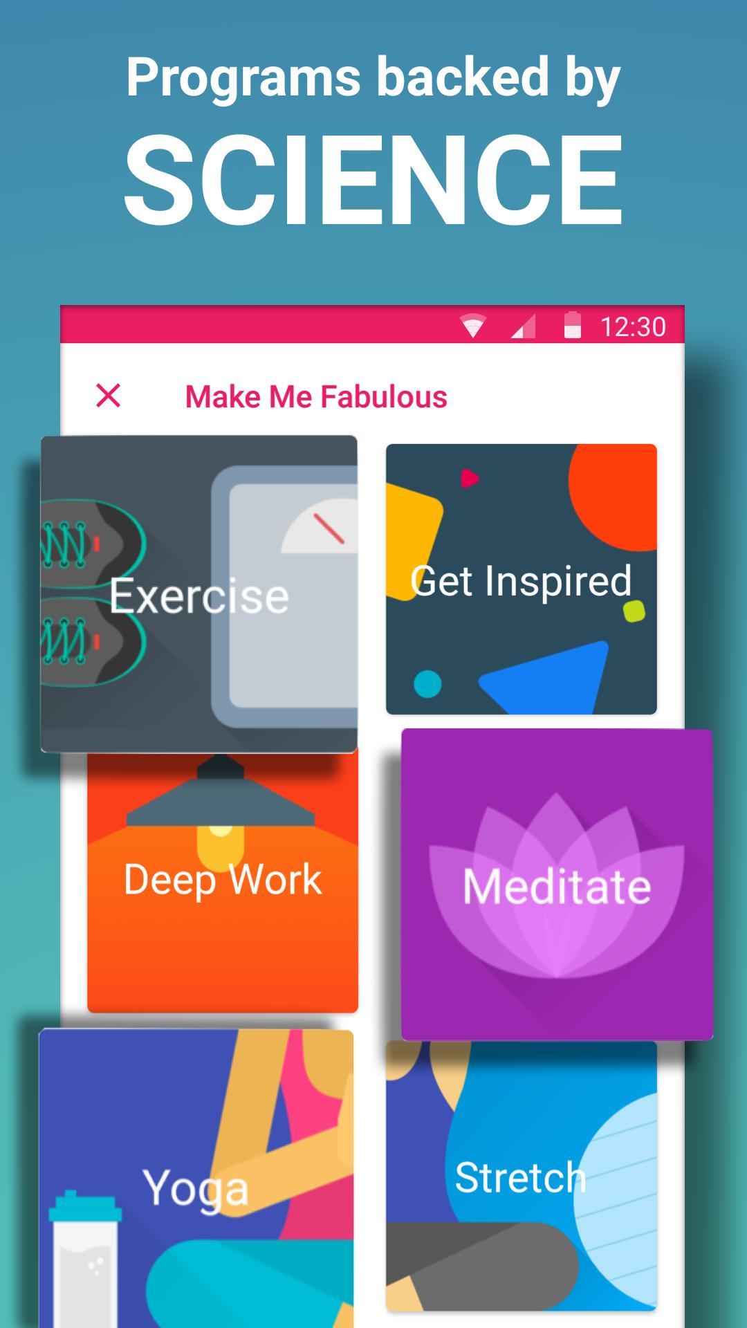 Fabulous Daily Motivation 3.60 Screenshot 3