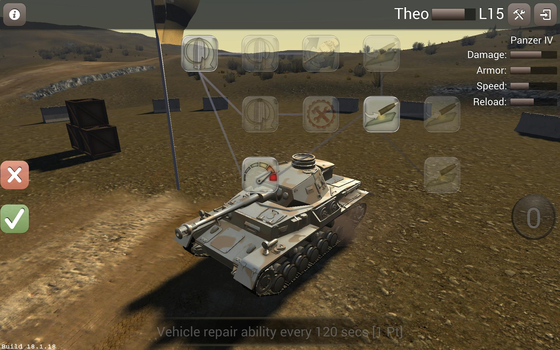 Archaic: Tank Warfare 4.03 Screenshot 9