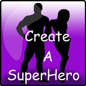 Create A Superhero HD app icon