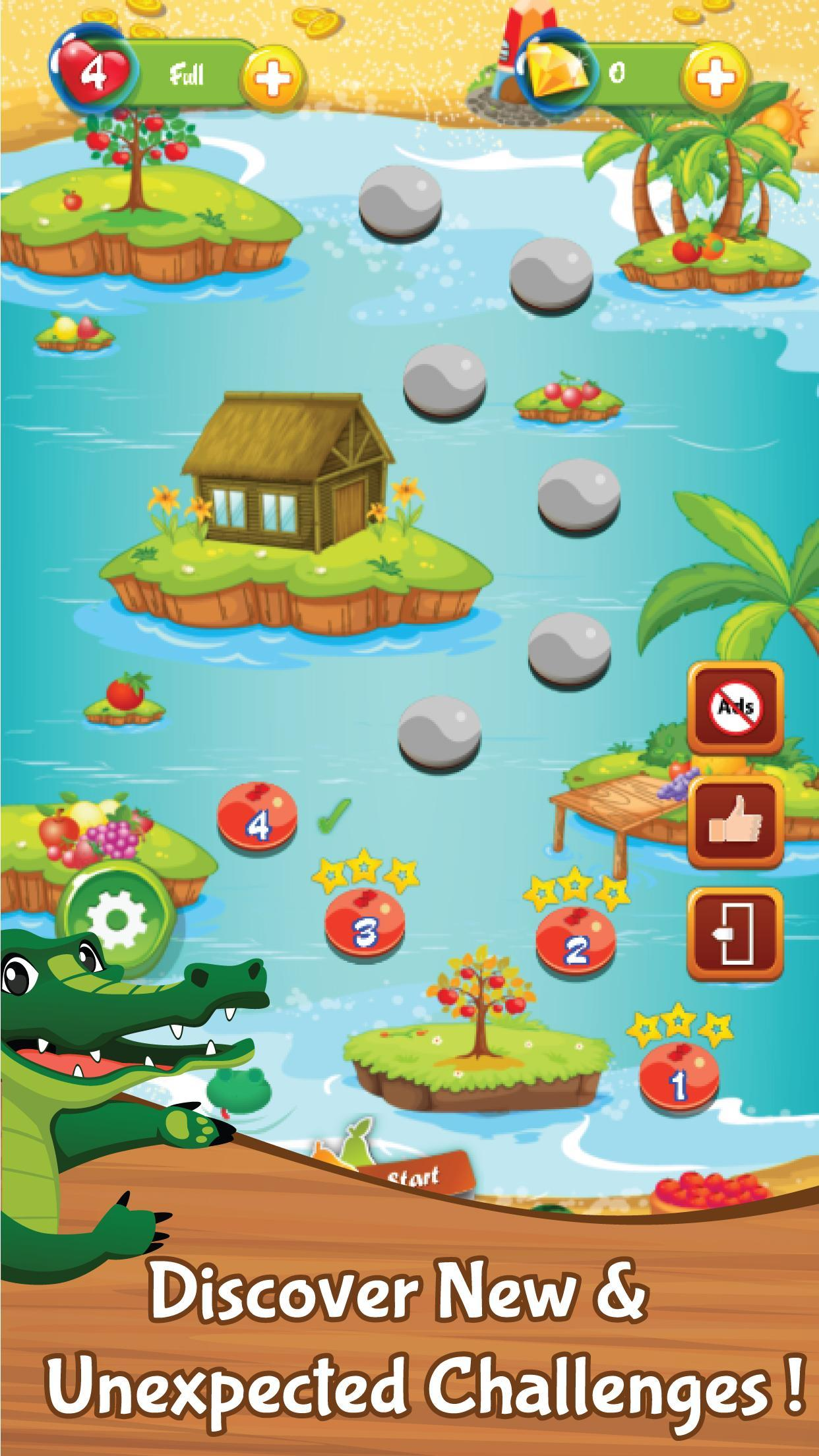 Match 3 Fruit Wonderland Puzzle - Jungle Adventure 1.101 Screenshot 2