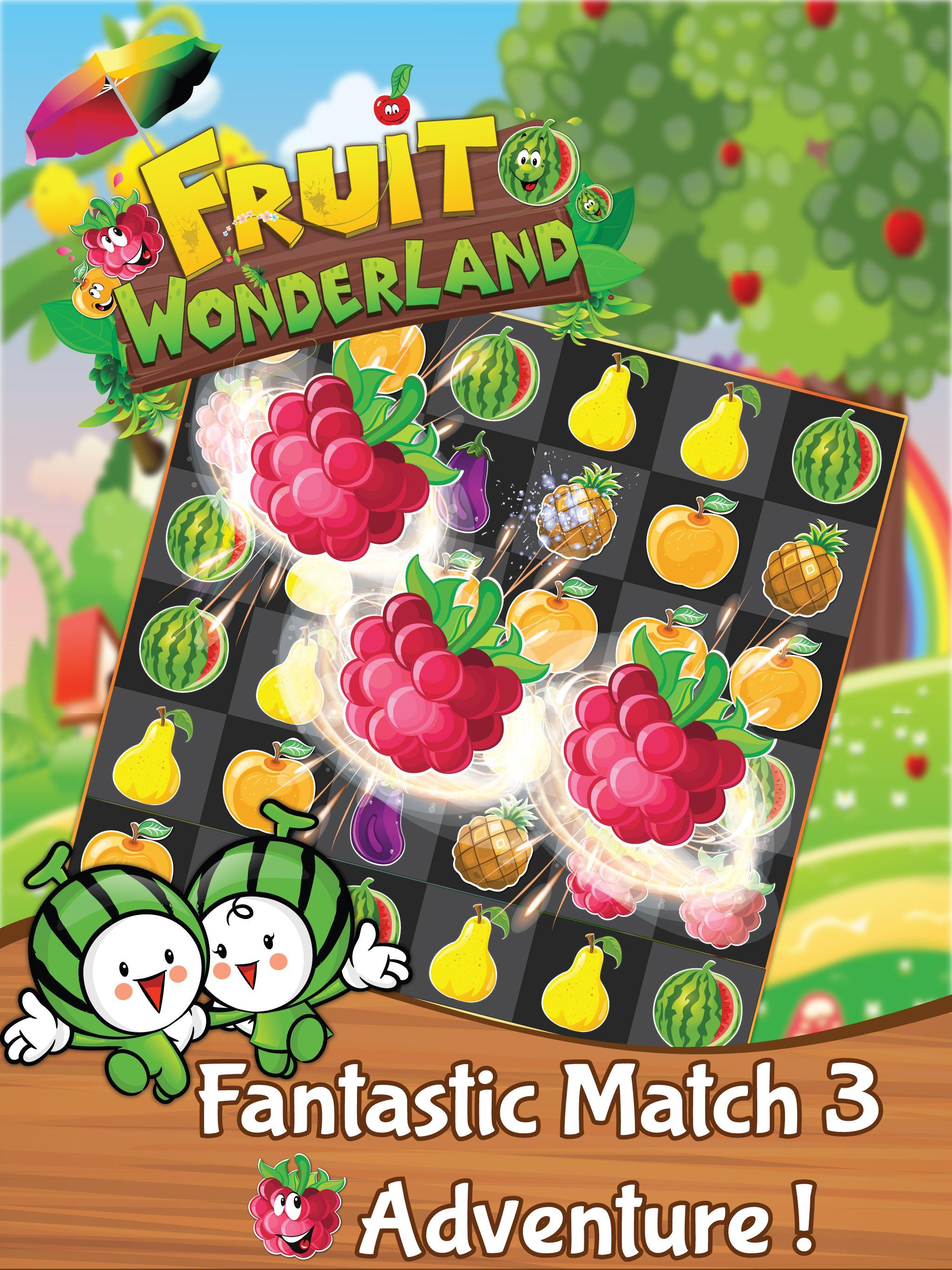 Match 3 Fruit Wonderland Puzzle - Jungle Adventure 1.101 Screenshot 9