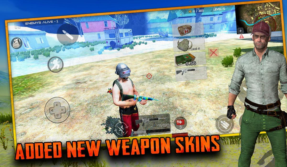 Free survival: fire battlegrounds battle royale 6 Screenshot 14