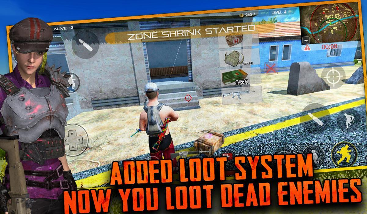 Free survival: fire battlegrounds battle royale 6 Screenshot 8