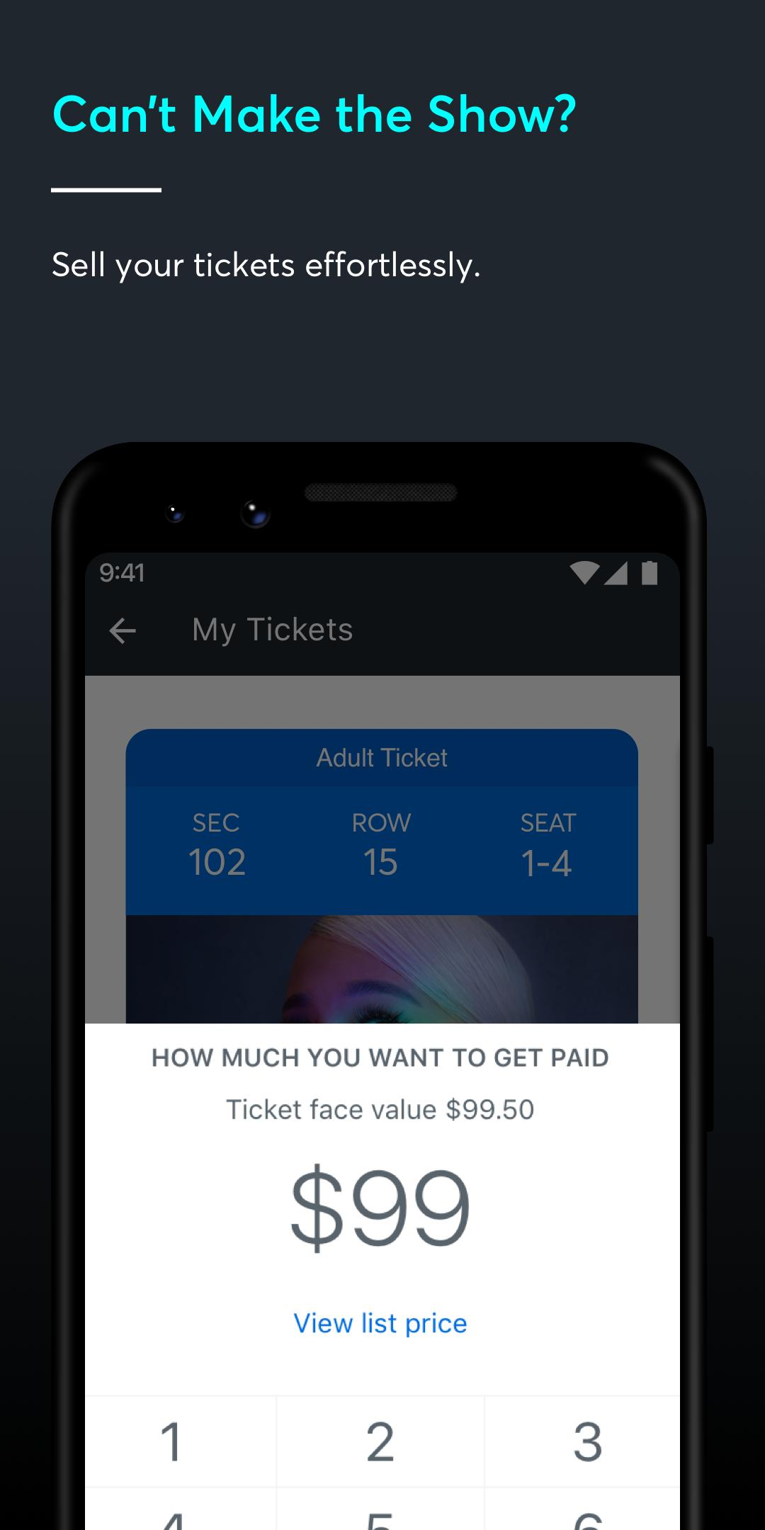 Ticketmaster-Buy, Sell Tickets to Concerts, Sports 224.0 Screenshot 5