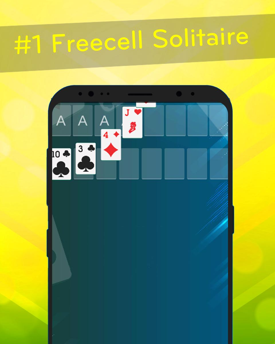 FreeCell – Classic Solitaire 1.3 Screenshot 2