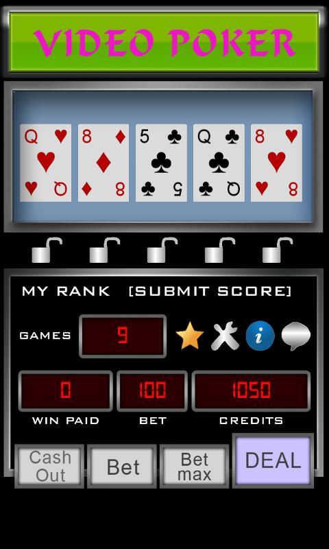 Video Poker 3.3.6 Screenshot 1