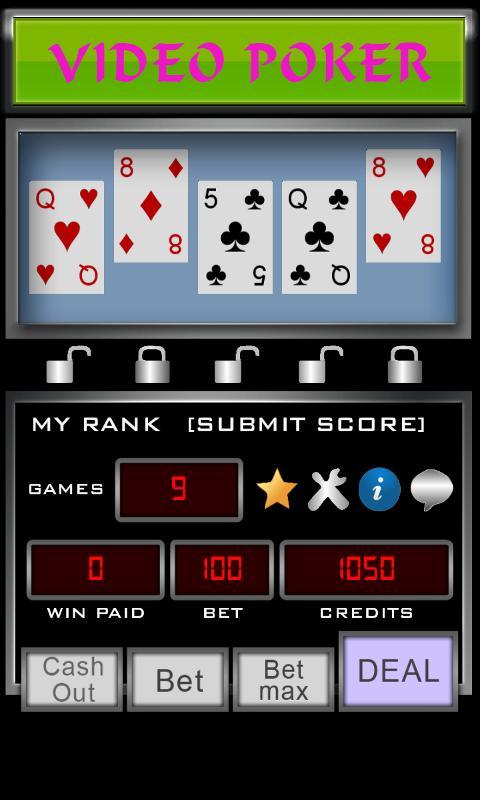 Video Poker 3.3.6 Screenshot 2