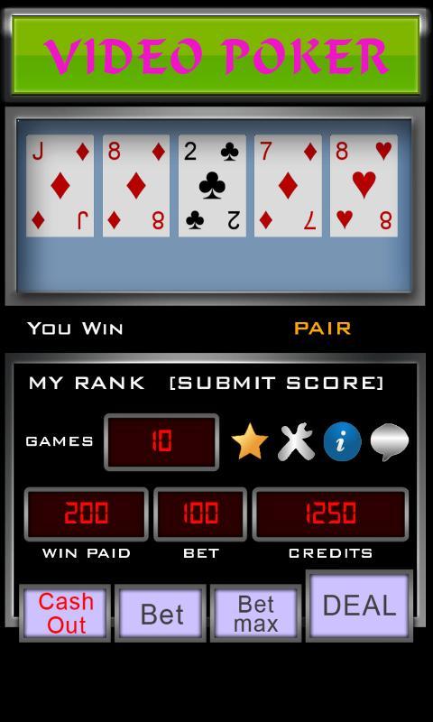 Video Poker 3.3.6 Screenshot 3