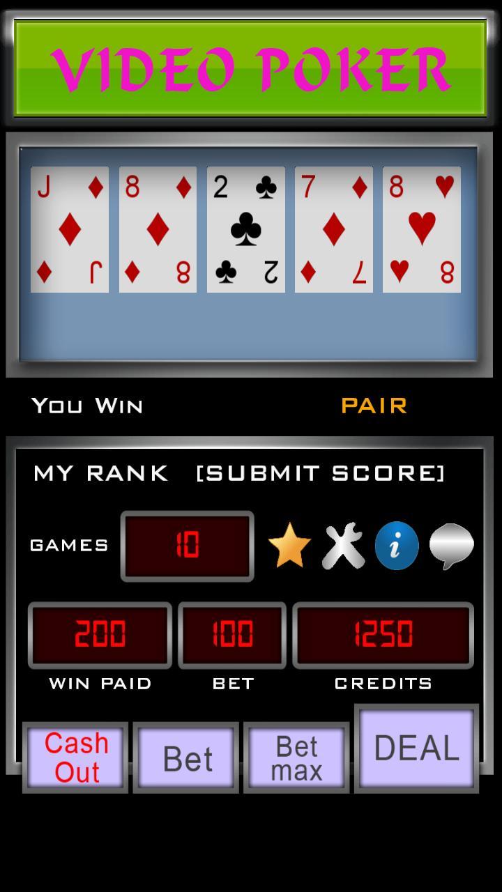 Video Poker 3.3.6 Screenshot 8