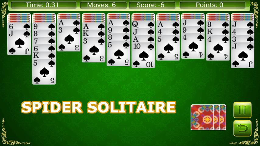 Solitaire 6 in 1 1.9.5 Screenshot 3