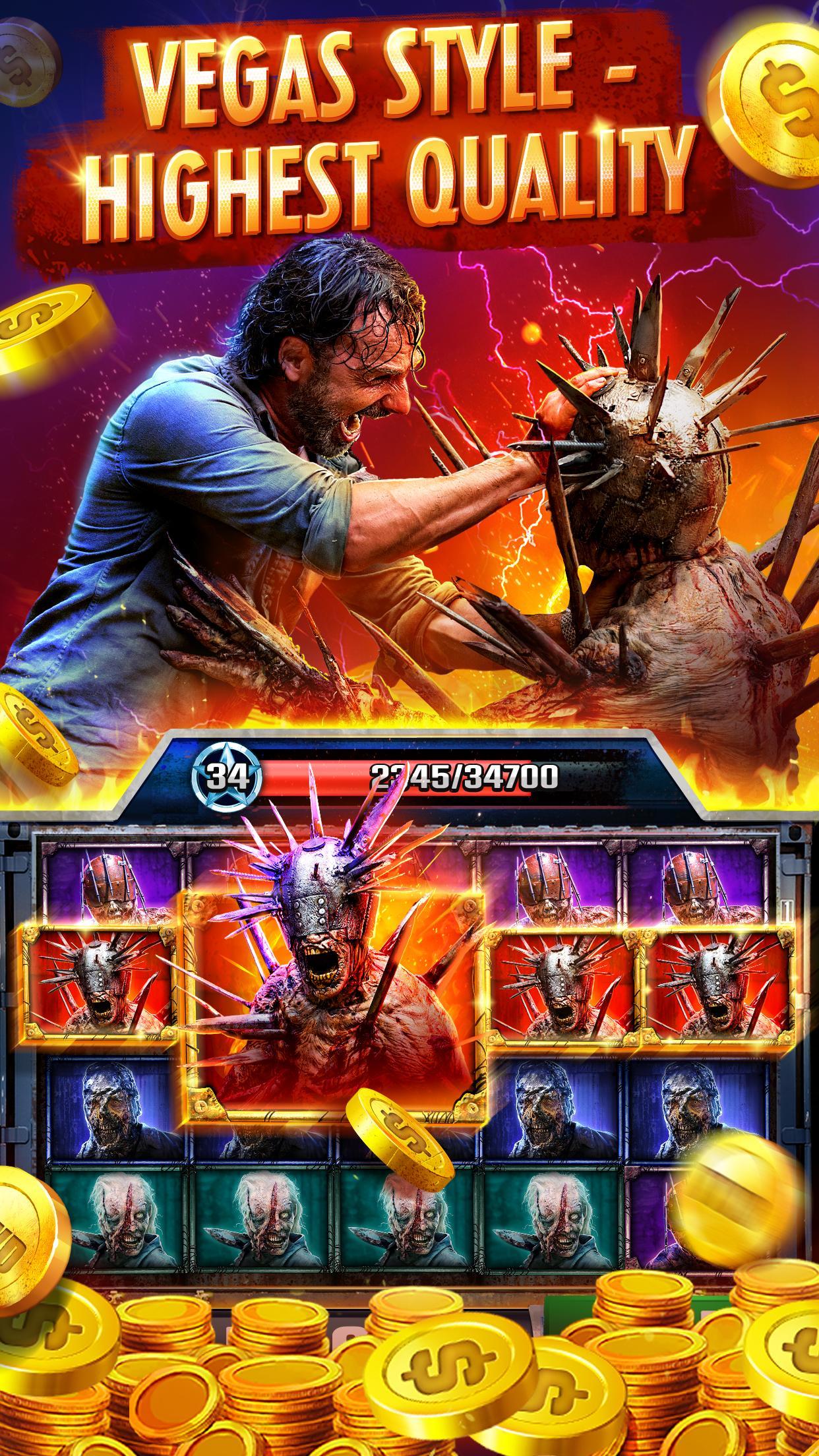 The Walking Dead: Free Casino Slots 208 Screenshot 1