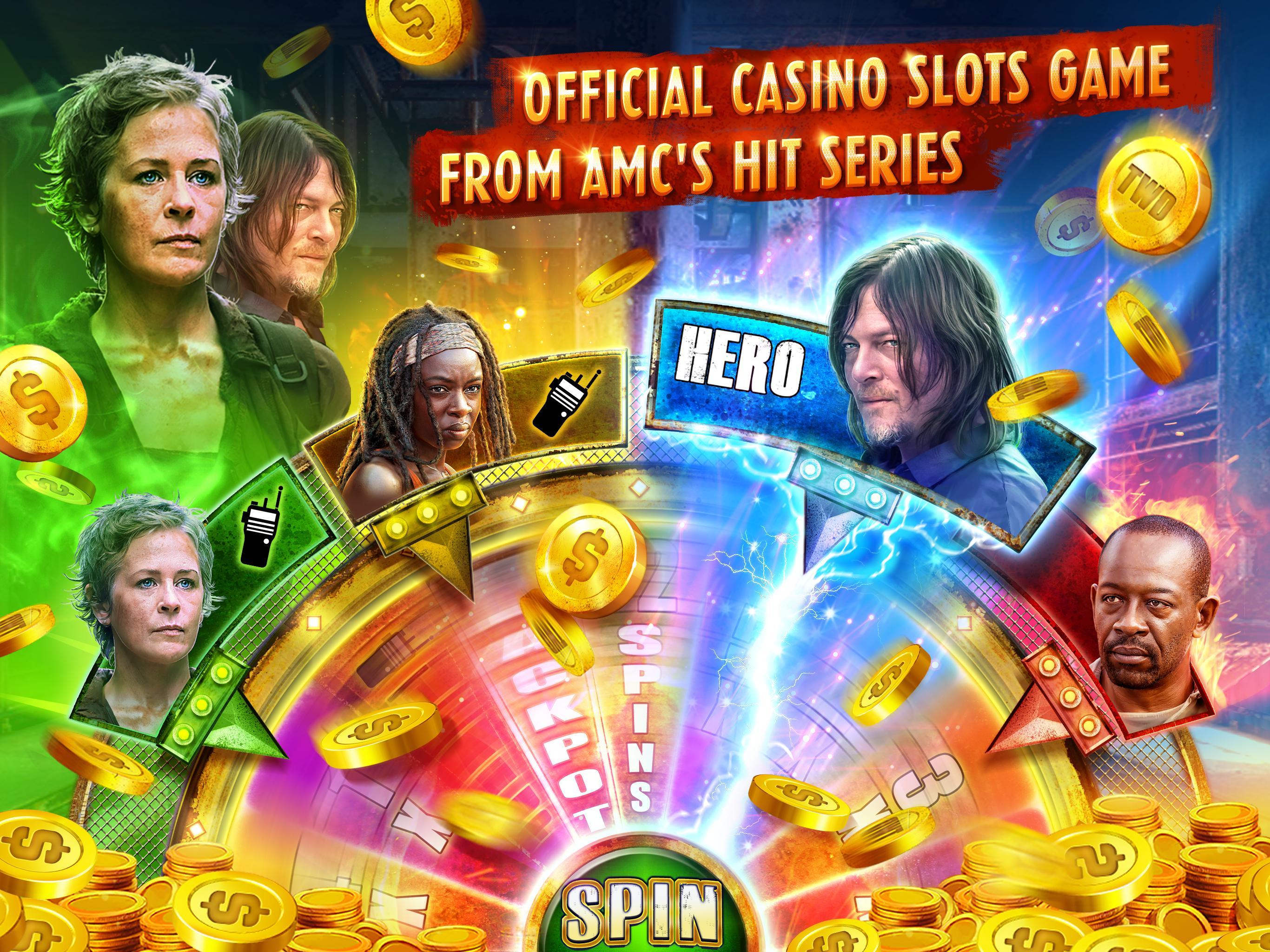 The Walking Dead: Free Casino Slots 208 Screenshot 12