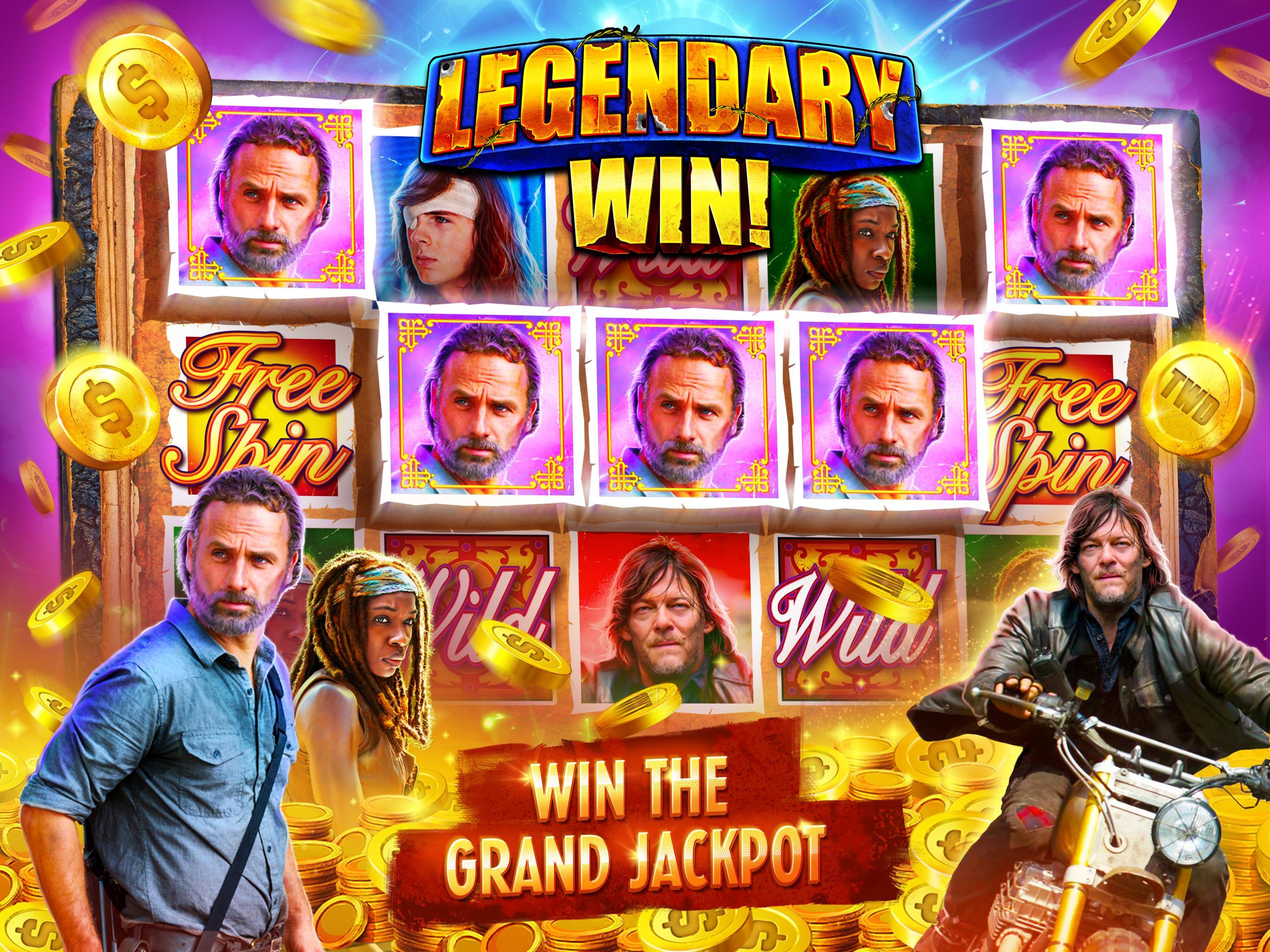 The Walking Dead: Free Casino Slots 208 Screenshot 15