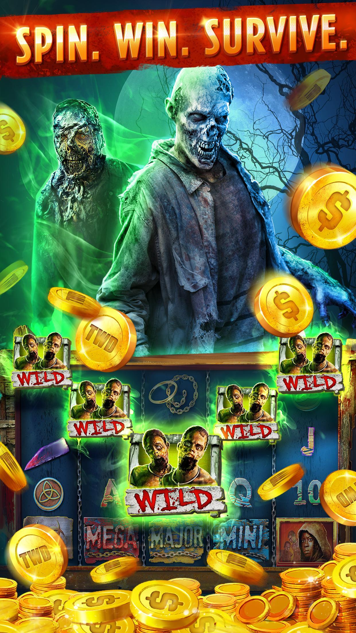 The Walking Dead: Free Casino Slots 208 Screenshot 3