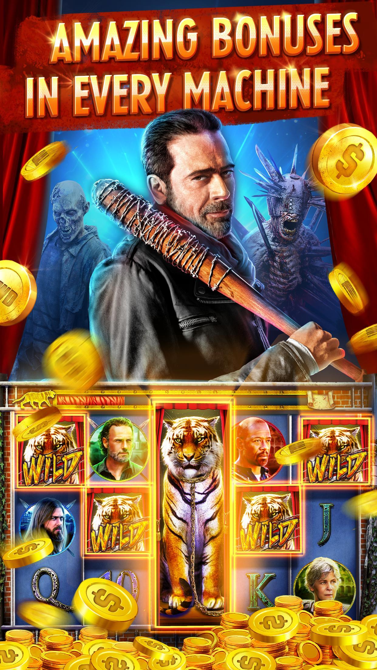 The Walking Dead: Free Casino Slots 208 Screenshot 4