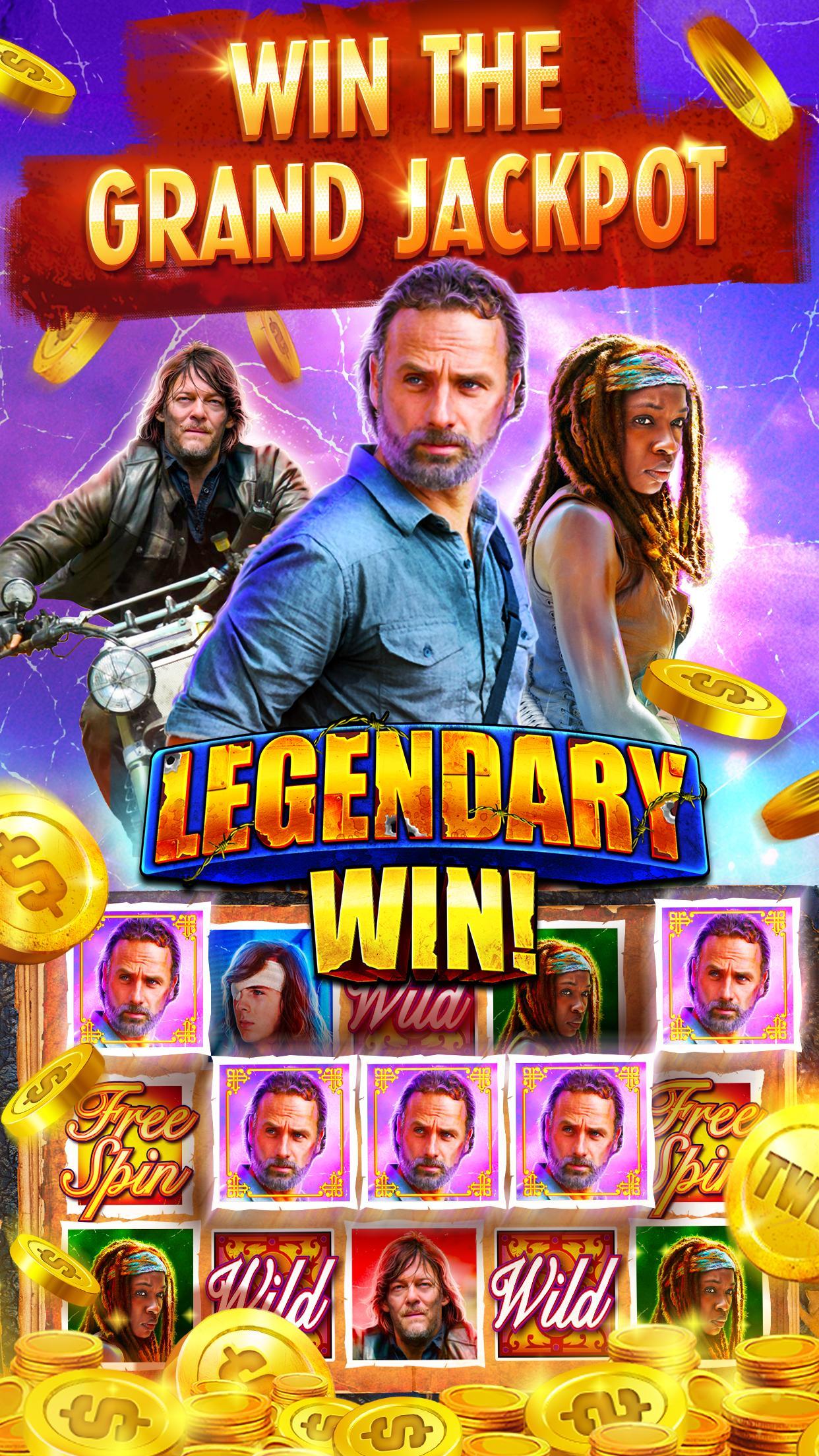 The Walking Dead: Free Casino Slots 208 Screenshot 5