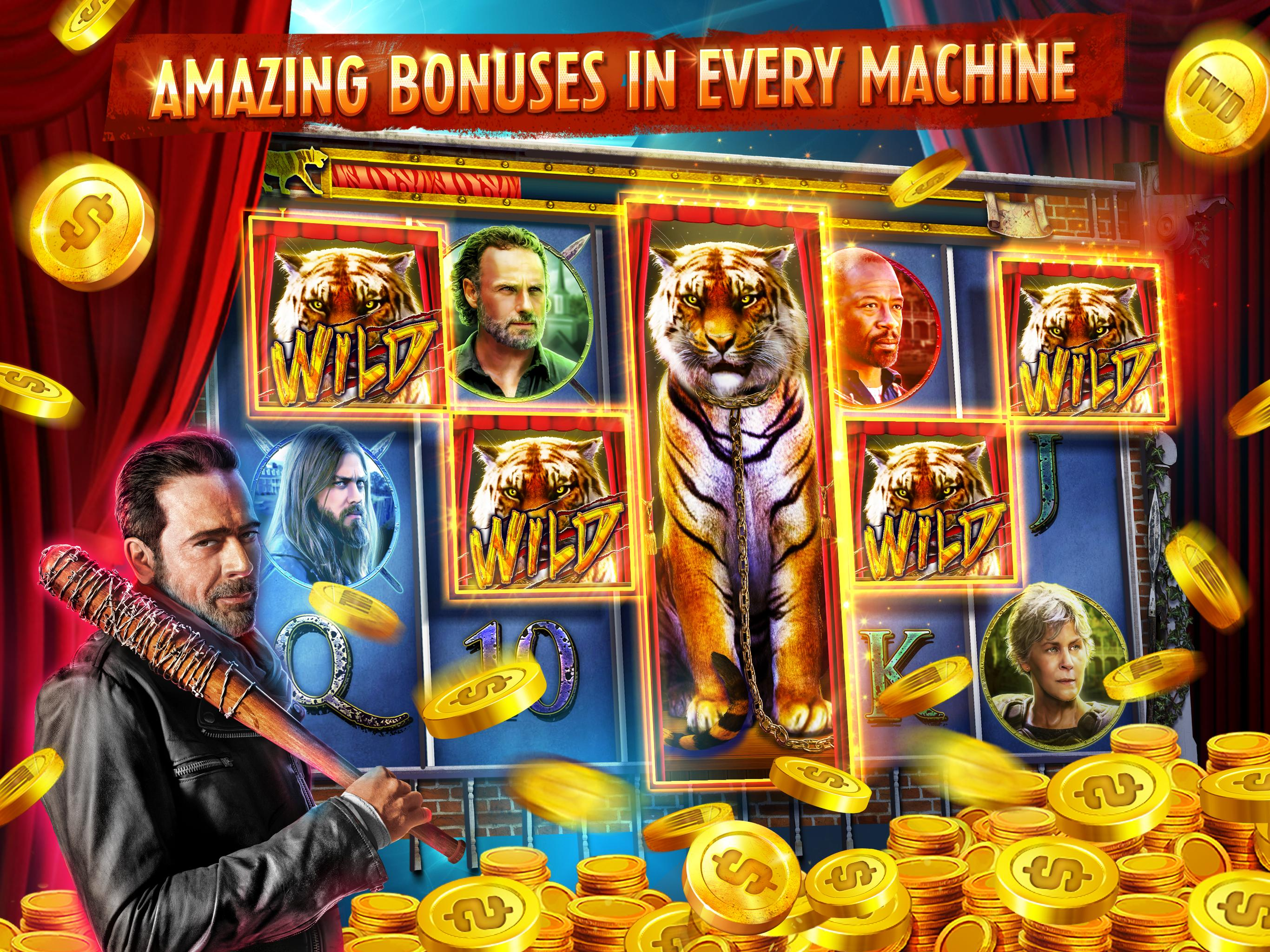 The Walking Dead: Free Casino Slots 208 Screenshot 9