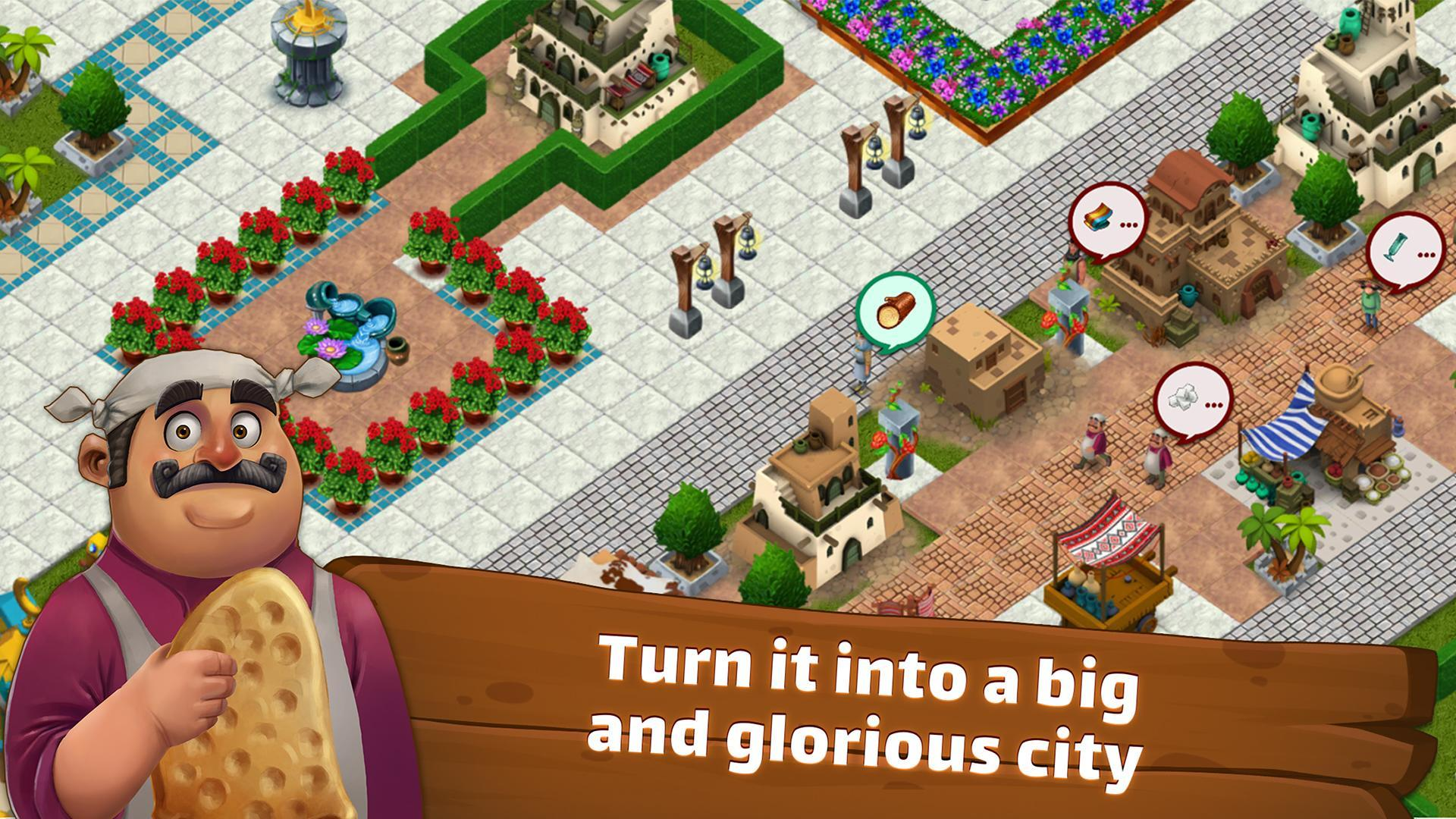 SunCity City Builder, Farming game like Cityville 1.26.1 Screenshot 2