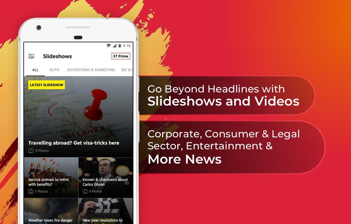 The Economic Times: Sensex, Market & Business News 3.8.3 Screenshot 7