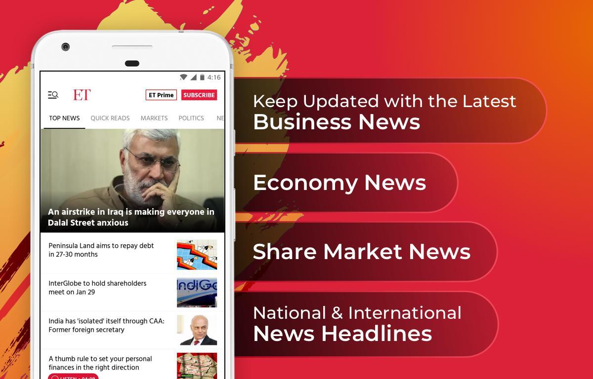 The Economic Times: Sensex, Market & Business News 3.8.3 Screenshot 8