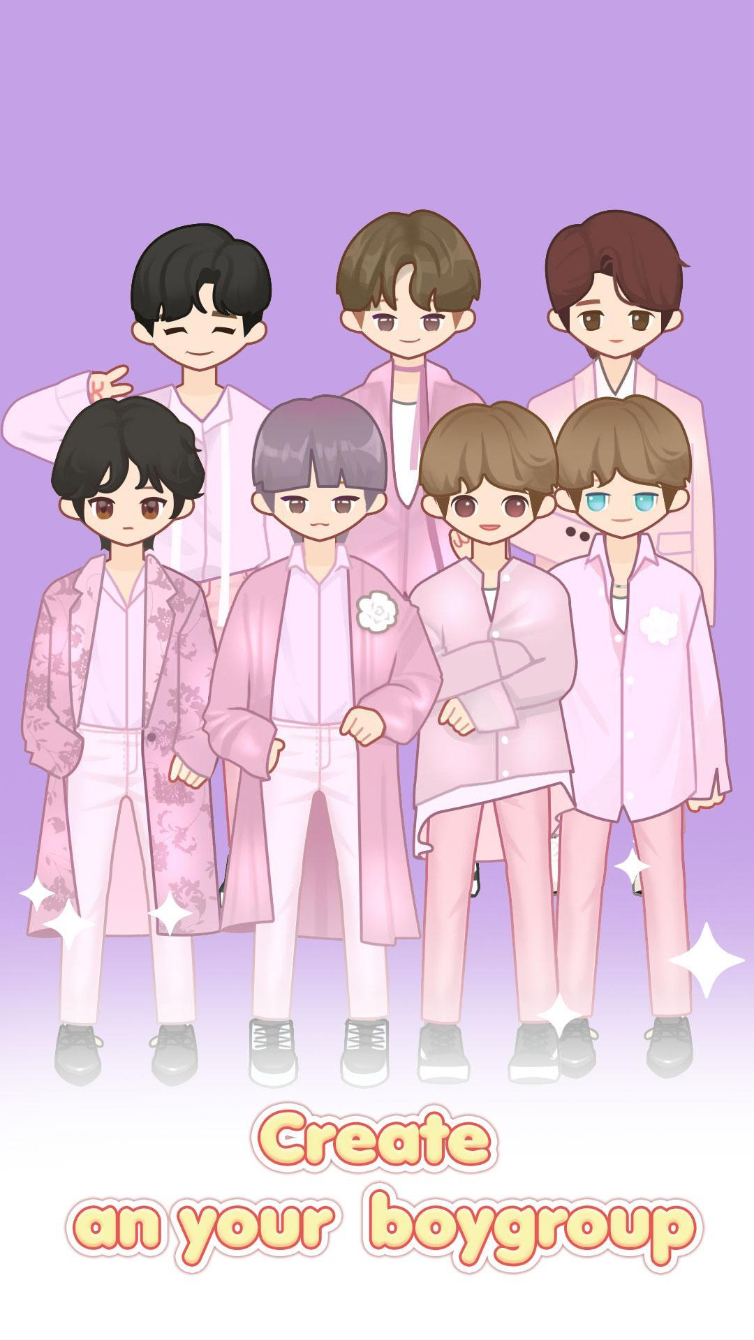 MYIDOL (#Dress up #BoyGroup #k-star #k-pop) 2.0.13 Screenshot 1