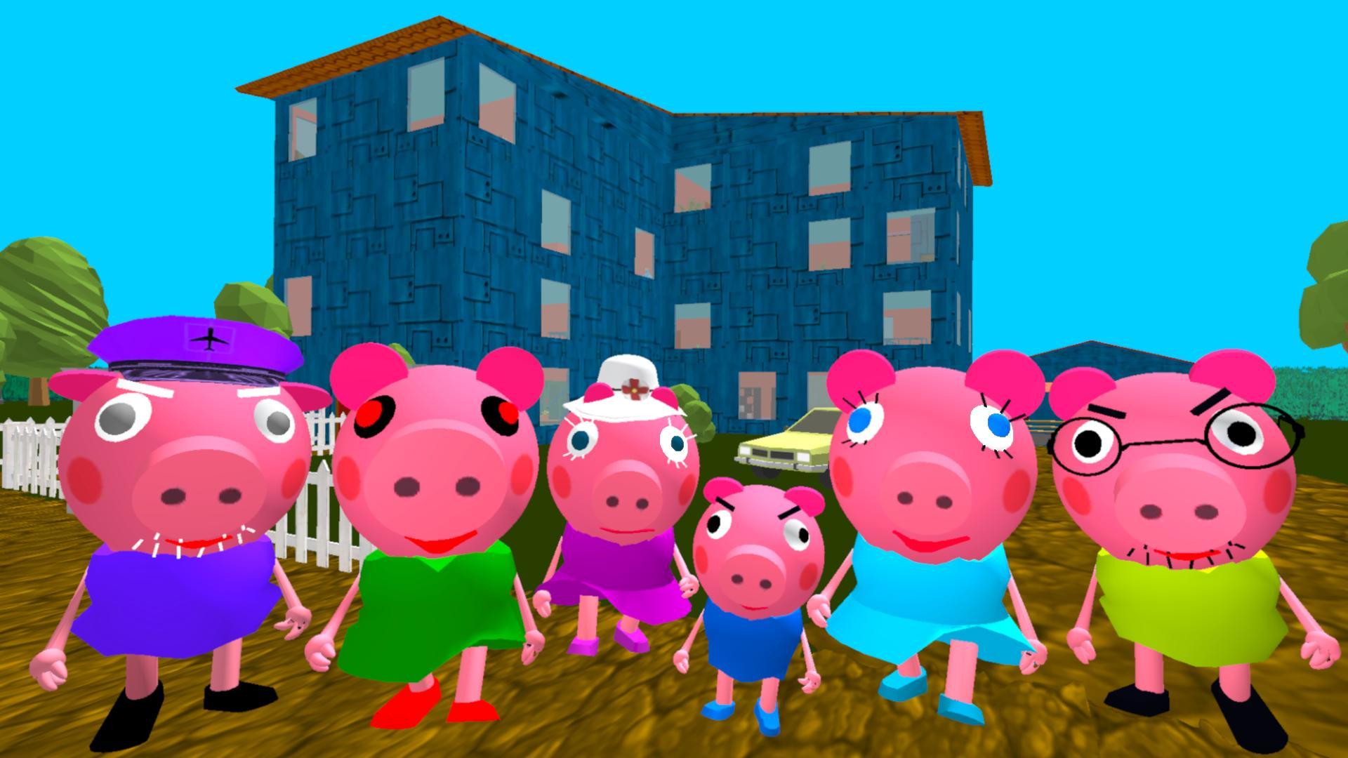 Piggy Neighbor. Family Escape Obby House 3D 1.9 Screenshot 1