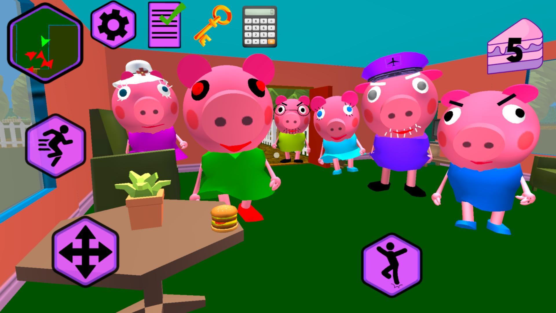 Piggy Neighbor. Family Escape Obby House 3D 1.9 Screenshot 2
