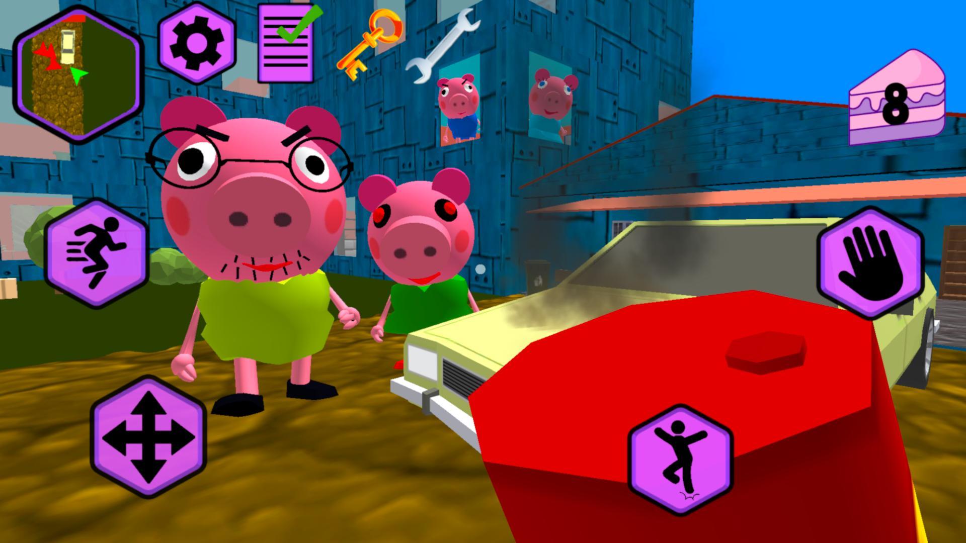 Piggy Neighbor. Family Escape Obby House 3D 1.9 Screenshot 3