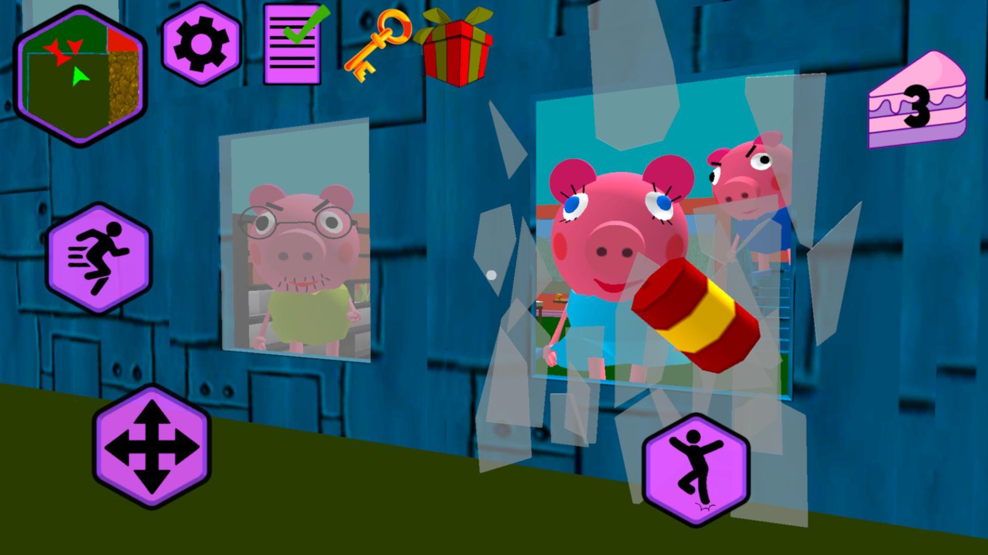 Piggy Neighbor. Family Escape Obby House 3D 1.9 Screenshot 7