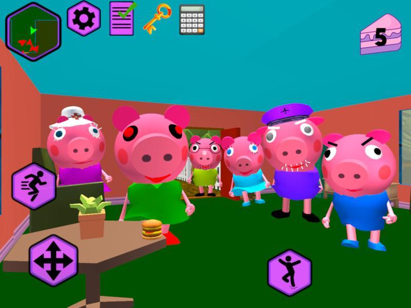 Piggy Neighbor. Family Escape Obby House 3D 1.9 Screenshot 8