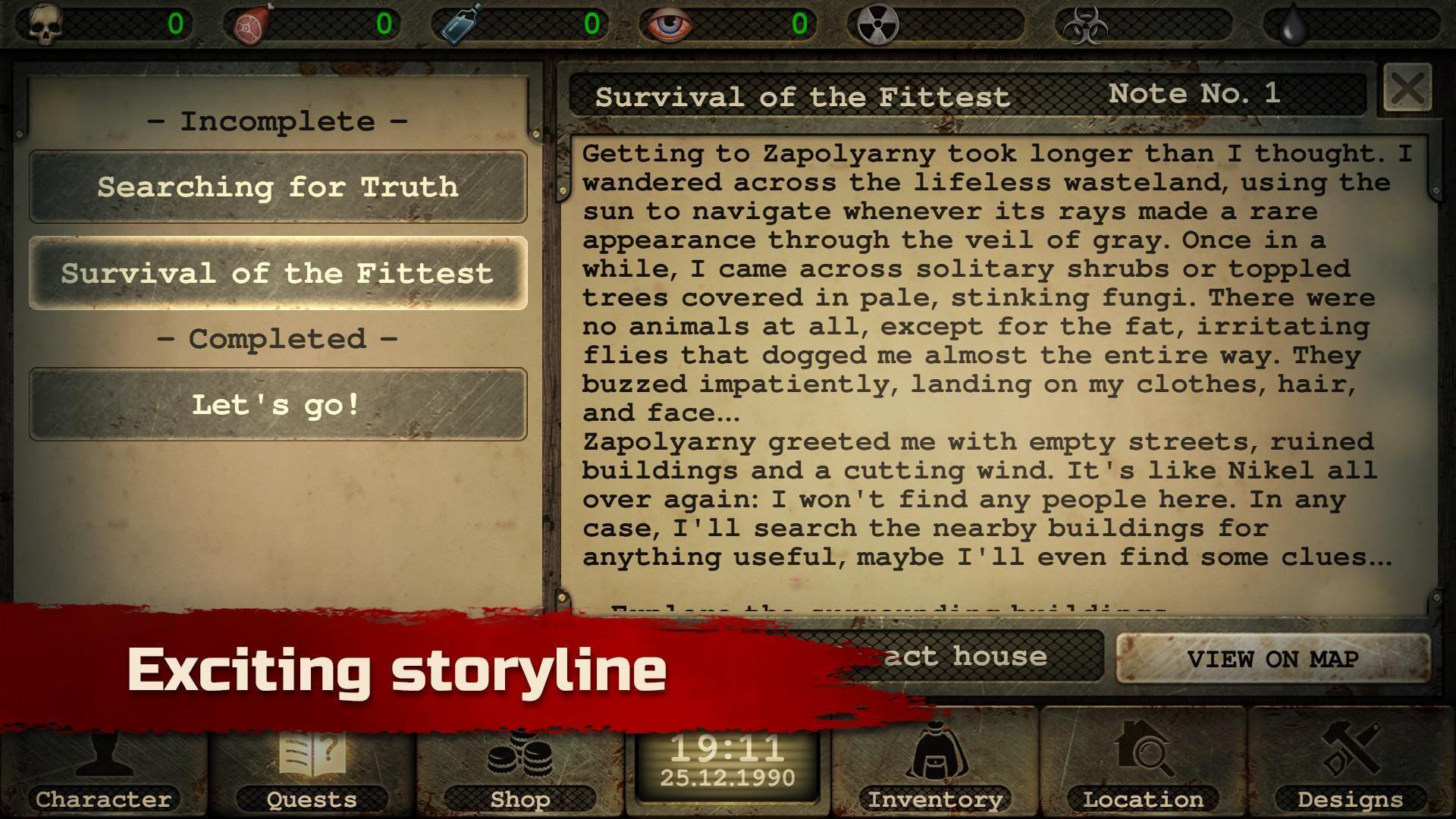 Day R Survival – Apocalypse, Lone Survivor and RPG 1.647 Screenshot 12