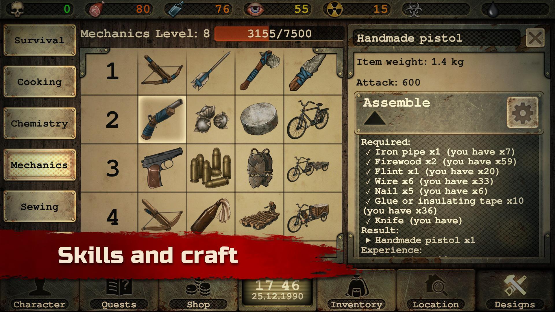 Day R Survival – Apocalypse, Lone Survivor and RPG 1.647 Screenshot 16